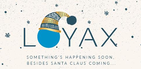Christmas loyax logo
